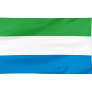 Flaga Sierra Leone 120x75cm