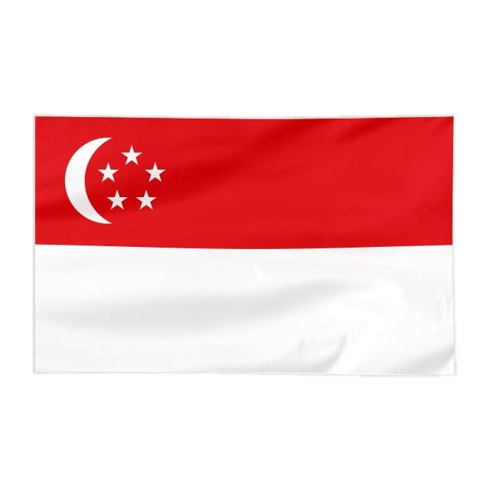 Flaga Singapuru 100x60cm