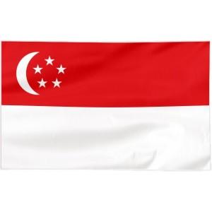 Flaga Singapuru 120x75cm
