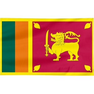 Flaga Sri Lanki 100x60cm