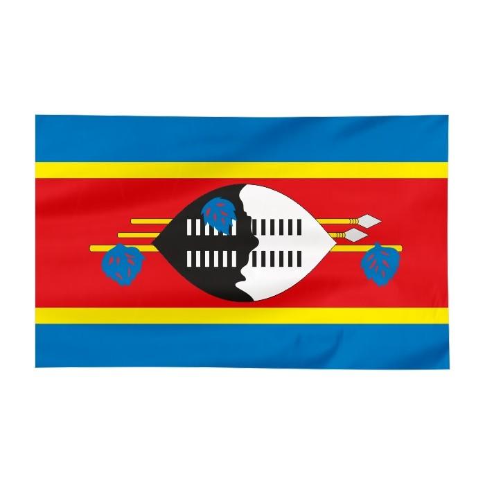 Flaga Suazi 120x75cm