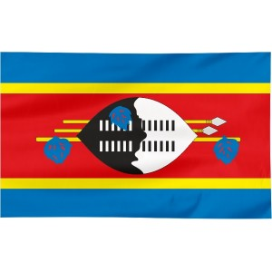 Flaga Suazi 150x90cm
