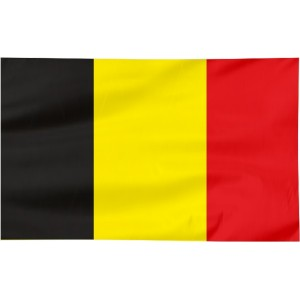 Flaga Belgii 150x90cm