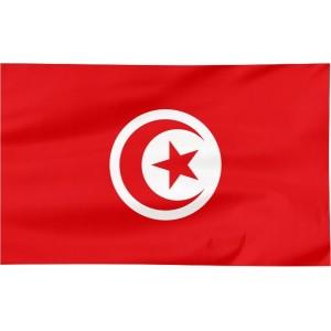 Flaga Tunezji 150x90cm