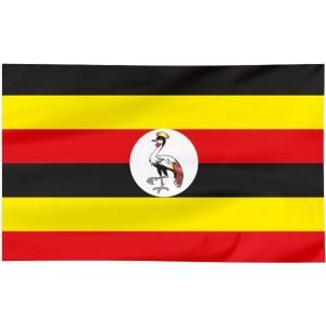 Flaga Ugandy 150x90cm