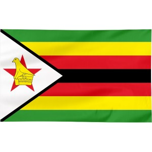 Flaga Zimbabwe 100x60cm