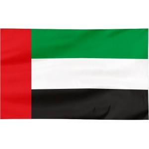Flaga Zjednoczonych Emiratów Arabskich 150x90cm