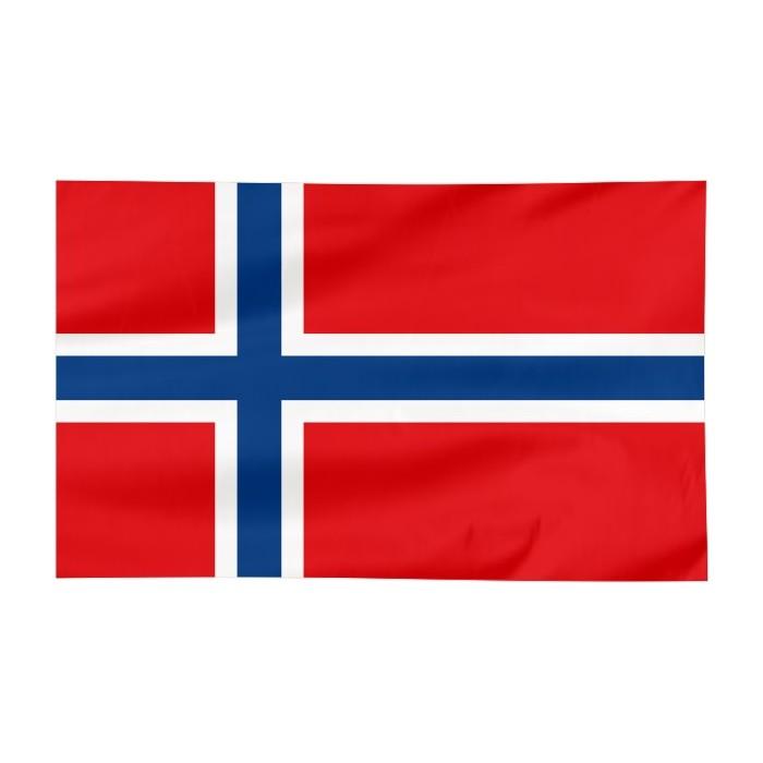 Flaga Norwegii 120x75cm