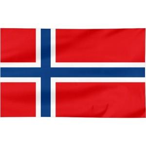 Flaga Norwegii 300x150cm