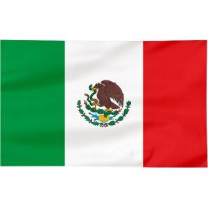 Flaga Meksyku 100x60cm