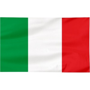Flaga Włoch 300x150cm