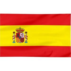 Flaga Hiszpanii 300x150cm