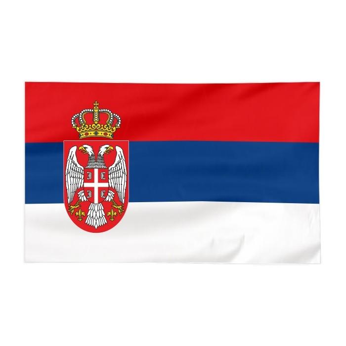 Flaga Serbii 120x75cm