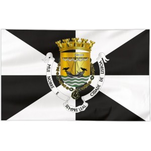 Flaga Lizbony 100x60cm