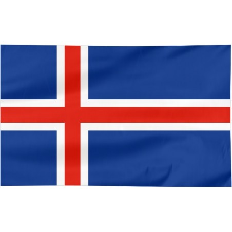 Flaga Islandii 150x90cm