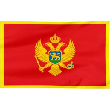 Flaga Czarnogóry 120x75cm