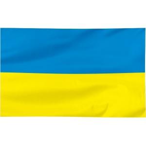 Flaga Ukrainy 100x60cm