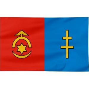 Flaga powiatu Ostrowieckiego 120x75cm