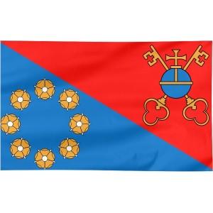Flaga powiatu Ostrowskiego 300x150cm