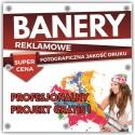 BANER REKLAMOWY PCV frontlit 1m2