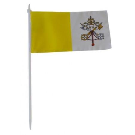 Chorągiewka Watykanu 11x6cm