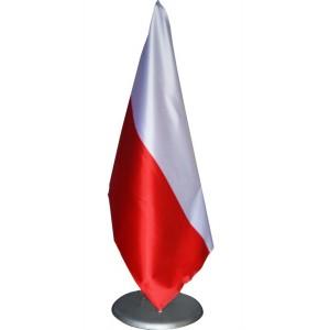 Podstawa gabinetowa na 1 flagę skośna