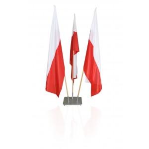 Podstawa gabinetowa na 5 flag