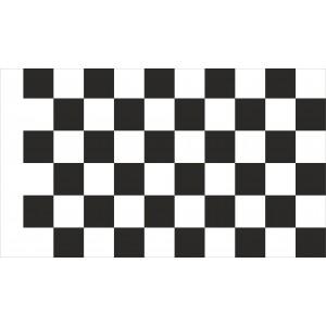 Flaga Wyścigowa Startowa Szachownica Flaga Meta 100x60cm