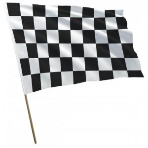 Flaga Wyścigowa Startowa Szachownica Flaga Meta 120x75cm