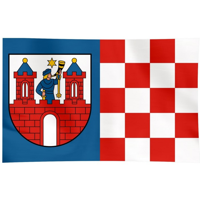 Flaga Kalisza 120x75cm