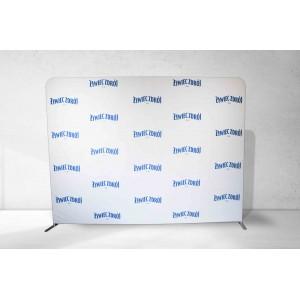 Ścianka reklamowa 300x230cm tekstylna PROSTA DWUSTRONNA 4x3
