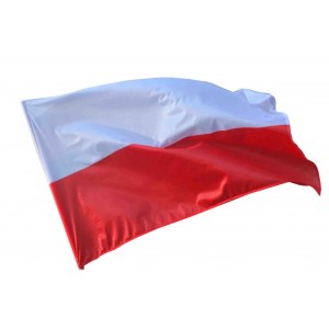 Flaga Polski-barwy 600x300cm