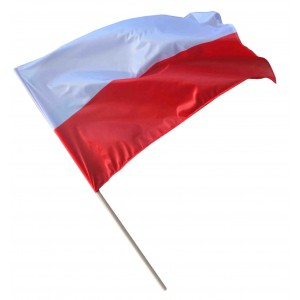 Flaga polski 112x70 ustawowa