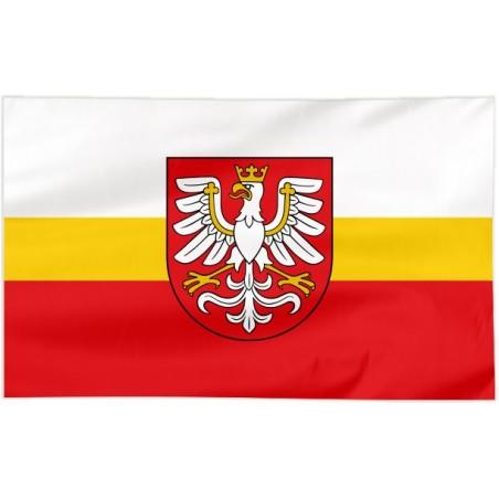 Flaga województwa Małopolskiego z herbem 300x150cm
