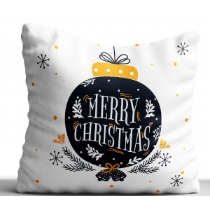 Poduszka Świąteczna na Boże Narodzenie 40x40cm Gotowe Wzory dwustronna