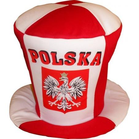 Cylinder - czapka kibica Polska