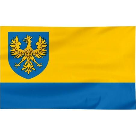 Flaga województwa Opolskiego z herbem 120x75cm