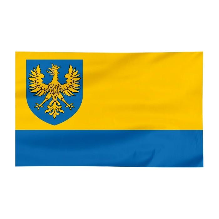Flaga województwa Opolskiego z herbem 150x90cm