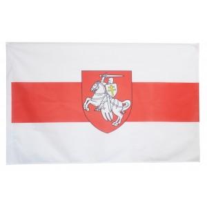 Flaga Białorusi Pogoń historyczna Białoruś opozycja 150x90cm