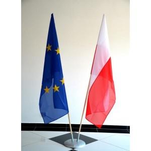 Podstawa gabinetowa z flagami