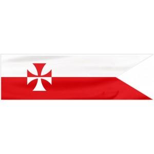9Proporzec Husarski 190x50cm flaga husarii