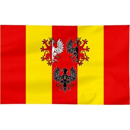 Flaga województwa Łódzkiego z herbem 100x60cm